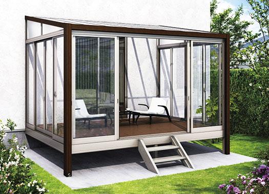 ソラリア  木調ガーデンルーム
