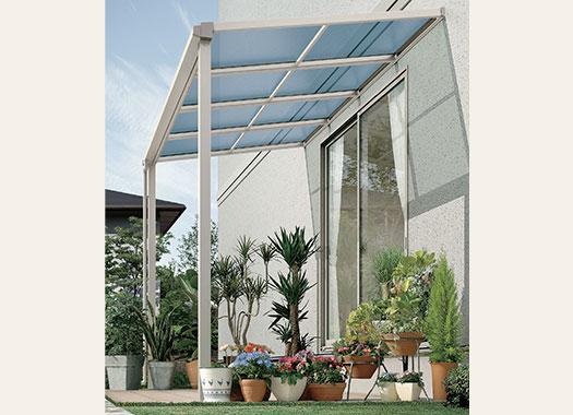 ソラリア  テラス屋根